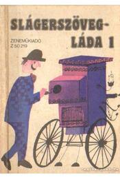 Slágerszövegláda 1. - Havas Gábor - Régikönyvek