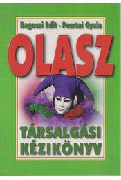 Olasz társalgási kézikönyv - Bagossi Edit - Pusztai Gyula - Régikönyvek
