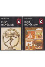 India művészete I-II. - Baktay Ervin - Régikönyvek