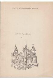 Agrármúzeológiai Füzetek I. - Balassa Iván - Régikönyvek