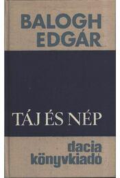 Táj és nép - Balogh Edgár - Régikönyvek