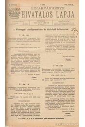Biharvármegye hivatalos lapja 1912. (teljes) - Balogh János - Régikönyvek