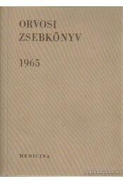 Orvosi zsebkönyv 1965 - Balogh János - Régikönyvek