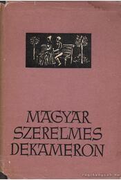 Magyar szerelmes dekameron - Barabás Tibor - Régikönyvek