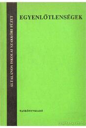 Egyenlőtlenségek - Baranyai Zsolt, Lippner György - Régikönyvek