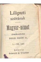 Magyar-német szótár (mini) - Beke Ödön (szerk.) - Régikönyvek