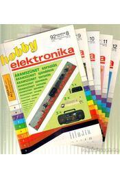 Hobby elektronika 1992. III. évfolyam (teljes) - Békei Ferenc - Régikönyvek