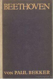 Beethoven - Bekker, Paul - Régikönyvek
