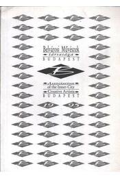 Belvárosi Művészek társasága - Régikönyvek