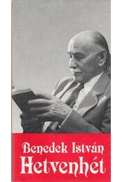 Hetvenhét - Benedek István - Régikönyvek