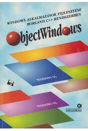 ObjectWindows - Benkő Tiborné, Moré Gábor - Régikönyvek
