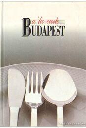 A'la carte Budapest - Berek János - Régikönyvek