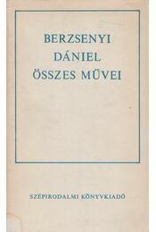 Berzsenyi Dániel összes művei - Berzsenyi Dániel - Régikönyvek