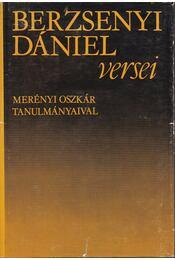 Berzsenyi Dániel versei - Berzsenyi Dániel - Régikönyvek