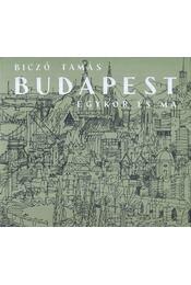 Budapest egykor és ma - Biczó Tamás - Régikönyvek