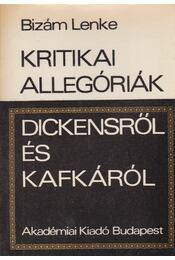 Kritikai allegóriák Dickensről és Kafkáról - Bizám Lenke - Régikönyvek