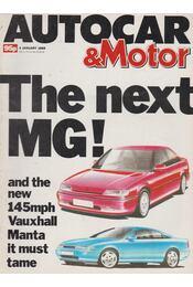 Autocar & Motor 1989 January 4 - Bob Murray - Régikönyvek