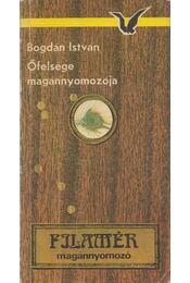Őfelsége magánnyomozója - Bogdán István - Régikönyvek