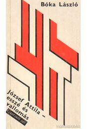 József Attila - Bóka László - Régikönyvek