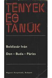 Don-Buda-Párizs - Boldizsár Iván - Régikönyvek