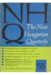 The New Hungarian Quarterly 53 - Spring 1974 - Boldizsár Iván - Régikönyvek