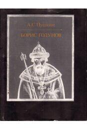 Borisz Godunov (orosz) - Alekszandr Puskin - Régikönyvek