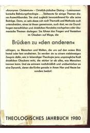 Theologisches Jahrbuch 1980 - Hübner,Siegfried, Ernst,Wilhelm, Feiereis,Konrad, Reindl, Joseph - Régikönyvek