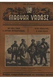 Magyar Vadász ( 1949. október 20.) - Déri Mihály - Régikönyvek