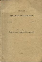 Életkor és termet a nagykunsági magyaroknál - Bartucz Lajos - Régikönyvek