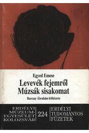 atirni - Levevék fejemről múzsák sisakomat - Egyed Emese - Régikönyvek
