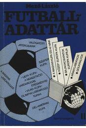 Futball-adattár II. rész - Mező László - Régikönyvek