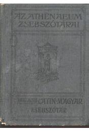 Latin-magyar zsebszótár a középiskolák számára - Schmidt József - Régikönyvek