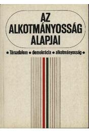 Az alkotmányosság alapjai - Kukorelli István, Schmidt Péter - Régikönyvek