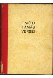 Emőd Tamás versei - Emőd Tamás - Régikönyvek