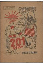 201 vicc rajzban és írásban - Földes György - Régikönyvek