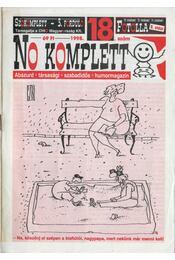 No komplett 1998. 18. szám - Böröcz Nándor (szerk.) - Régikönyvek