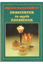 Desszertek és egyéb édességek - Boruzsné Jacsmenik Erika, Boruzs János - Régikönyvek