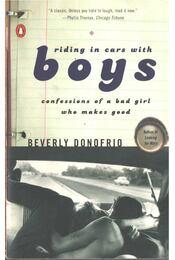 Riding in Cars with Boys - Donofrio, Beverly - Régikönyvek