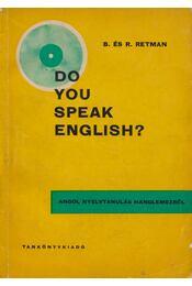 Do you speak english? - Bozena Retman, Roman Retman - Régikönyvek