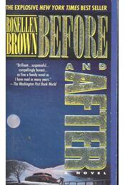 Before and After - BROWN, ROSELLEN - Régikönyvek