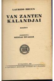 Van Zanten kalandjai - Bruun, Laurids - Régikönyvek