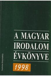 A magyar irodalom évkönyve 1998 - Buda Attila - Régikönyvek