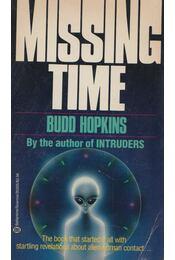 Missing Time - Budd Hopkins - Régikönyvek