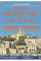 Pocket Dictionary and Phrase Book - English-Maltese - Bugeja, Paul - Régikönyvek