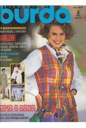Burda 1993/2 február - Régikönyvek