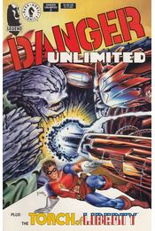 Danger Unlimited No. 2. - Byrne, John - Régikönyvek