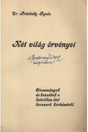 Két világ örvényei - Privitzky Gyula - Régikönyvek