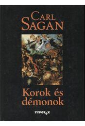 Korok és démonok - Carl Sagan - Régikönyvek