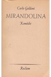 Mirandolina - Carlo Goldoni - Régikönyvek