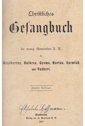 Christliches Gesangbuch der evangelischen Gemeinden A. B. in Mezőberény, Bulkesz, Gyoma, Hartau, Szemlak und Vadkert - Régikönyvek